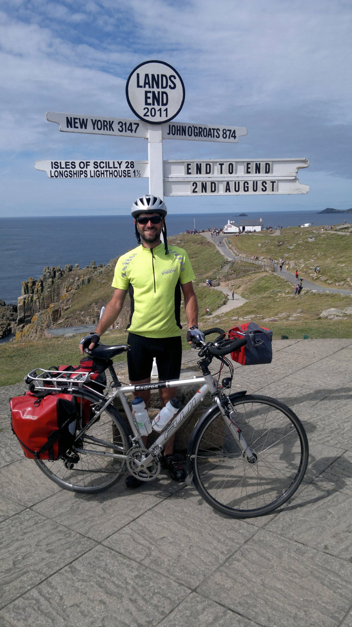 Day 19: Carnon Down to Lands End and back to Penzance (57miles)